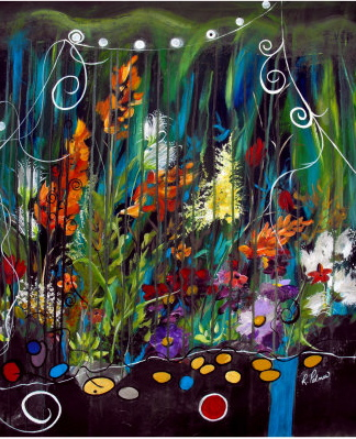 """Garden of Wishes,"" by Ruth Palmer"
